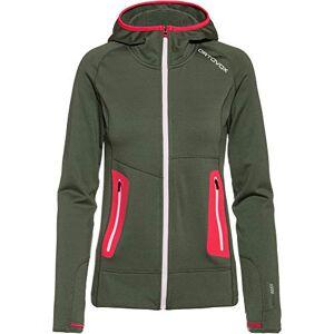 Ortovox Women's Fleece Light Hoody W Sweatshirt, Green Forest, M
