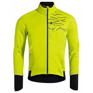 VAUDE Men's Fedaia Softshell Jacket, Bright Green, L