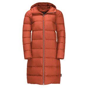 Jackwolfskin Jack Wolfskin Unisex's Crystal Palace down coat Women's, Saffron Orange, L