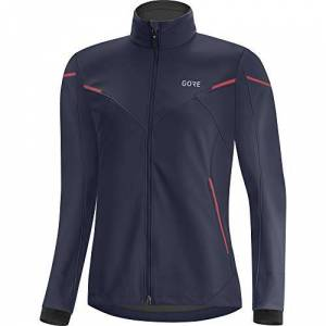 GORE WEAR Women's Running Jacket, R5, GORE-TEX INFINIUM, XS/34, Orbit Blue/Hibiscus Pink