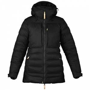 FJALLRAVEN Women's Keb Expedition Down Jacket W, Black, L