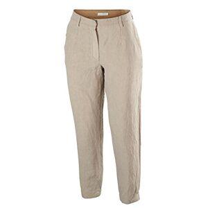 FALKE Women's Golf Go W Pt Trousers, Womens, Trouser, 37222, Beige (Pure Cashmere 4357), 34 (EU)