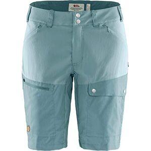 FJALLRAVEN Abisko Midsummer Shorts W – Women's Trousers, Womens, Pants, F89857, Mineral Blue - Clay Blue, 36