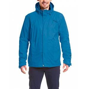 maier sports Metor M Men's Jacket, Blue (Aviator), 54, mens, Functional jacket, 120021, Blue (Imperial Blue), 60 (EU)