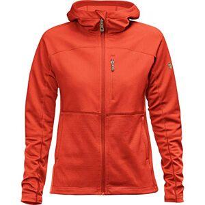 FJALLRAVEN Abisko Trail Fleece W Jacket, Women, womens, F89589, Flame Orange, M