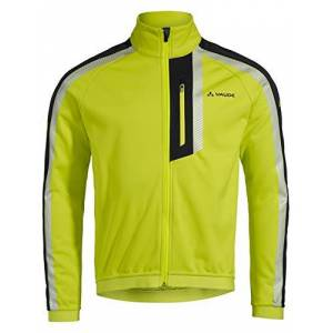 VAUDE Men's Luminum Softshell Jacket II, Bright Green, L