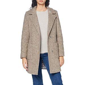 Bugatti Women's 661800-64009-50 Wool Blend Coat, Beige, 44