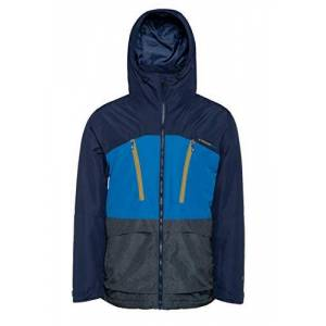 Protest Men Ski jacket BUSTON 10K Breathability and waterproof Sporty Blue L