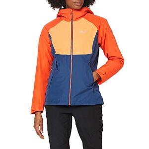 Jackwolfskin Jack Wolfskin Unisex's Mount Isa 3In1 jacket Women's, Wild Brier, L