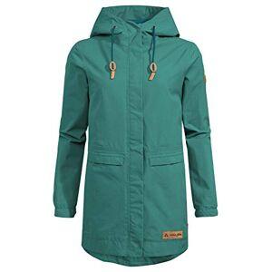 VAUDE Women's Redmont Parka Jacket, Nickel Green, 44 (EU)