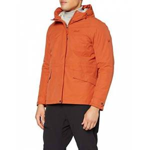 Jackwolfskin Jack Wolfskin Unisex's Lake Louise jacket Women's, Saffron Orange, L