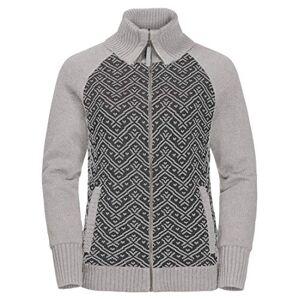 Jack Wolfskin Women's Northwind Jacket, Light Grey, Size 6