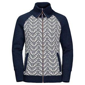Jack Wolfskin Women's Northwind Jacket, Midnight Blue, Size 4