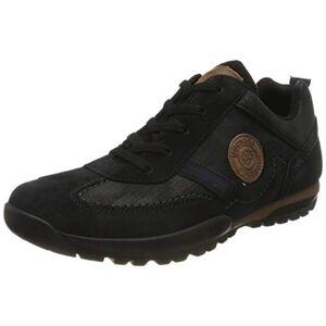 Dockers by Gerli Men's 36ht035 Low-Top Sneakers, Black (Schwarz/Reh 141), 11.5 UK