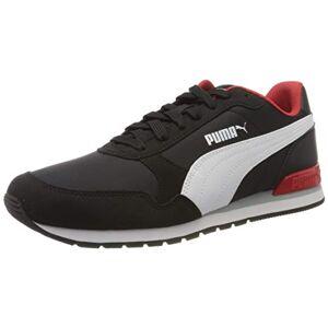 Puma St Runner V2 NL, Adult Unisex Sneakers - Black (Puma Black-Puma White-High Risk Red), 38 EU - 5 UK