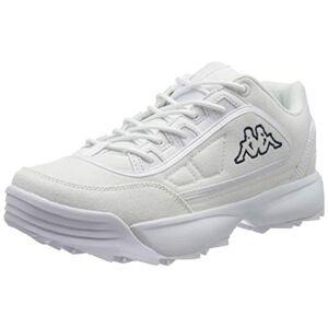 Kappa Unisex Adults' Rave Sun Low-Top Sneakers, Black (White/Navy 1067), 5 UK