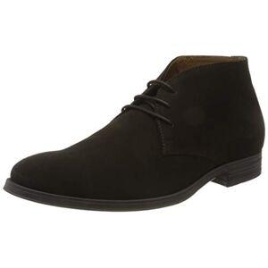Geox Men's U Rezzonico E Desert Boots, Brown (Dk Brown C6006), 8 UK