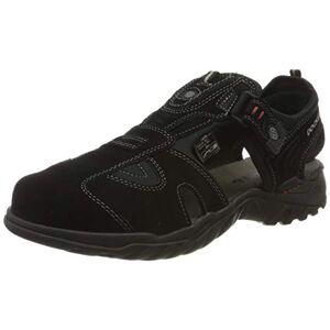 Dockers by Gerli Men's 36li013-200100 Closed Toe Sandals, Black (Schwarz 100), 12 UK