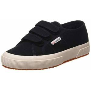 Superga Unisex 2750-cot3strapu Gymnastics Shoes, Black Black 999, 5 UK