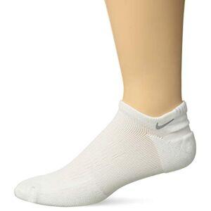 Nike Men's U NK SPARK CUSH NS Socks, White (White/Reflective/100), 5.5-6.5 (Manufacturer Size: 38.5-40.5)