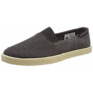 Quiksilver Men's Espadrilles, Black (Solid Black Sbkm), 5 UK