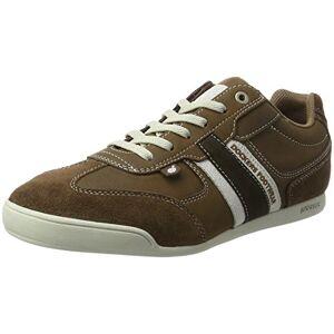 Dockers by Gerli 28pe901-204314, Men's Low-Top Sneakers, Brown (Braun/reh), 6.5 UK (40 EU)