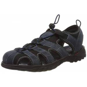 Dockers by Gerli Men's 36li019-207660 Sling Back Sandals, Blue (Navy 660), 9.5 UK