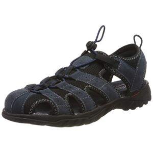 Dockers by Gerli Men's 36li019-207660 Sling Back Sandals, Blue (Navy 660), 12.5 UK