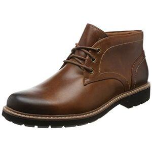 Clarks Men's Batcombe Lo Chelsea Boots, Brown (Dark Tan Lea), 5 UK