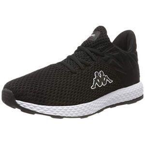 Kappa Hector, Unisex Adults' Low-Top Sneakers, Black (Black/White 1110), 5 UK (38 EU)