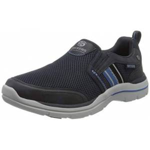 Dockers by Gerli Men's 46bn003-607660 Low-Top Sneakers, Blue (Navy 660), 7.5 UK