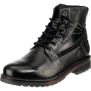 Dockers by Gerli Men's 45ln005 Combat Boots, Black (Schwarz 100), 10 UK
