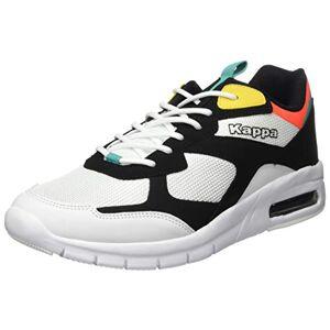 Kappa Unisex Adults' Ansteys Sneaker, 1117 Black/Multi, 5 UK