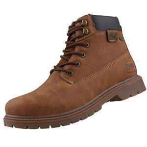 Dockers by Gerli Men's 43ea001 Combat Boots, Brown (Cognac 470), 11 UK