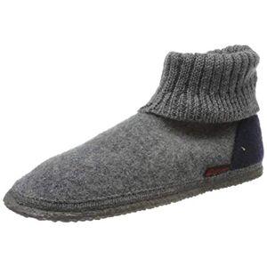 Giesswein Unisex Adults' Kramsach Hi-Top Slippers, Grey (Schiefer), 5 UK