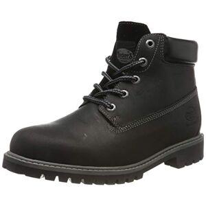 Dockers by Gerli Unisex Kids' 43rn702 Combat Boots, Black (Schwarz 100), 2 UK