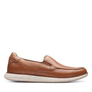 Clarks Men's Un Pilot Step Loafers, Brown (Tan Leather Tan Leather), 8.5 UK