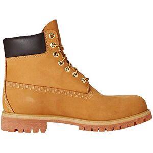 Timberland Men's 6 Inch Premium Lace-up Boots, Yellow (Wheat Nubuck), 8.5 UK (43 EU)