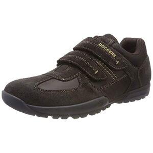 Dockers by Gerli Men's 36ht029 Low-Top Sneakers, Brown (Schoko 360), 8.5 UK