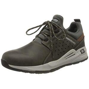 Dockers by Gerli Men's Avalanche Sneaker, Grey, 12.5 UK