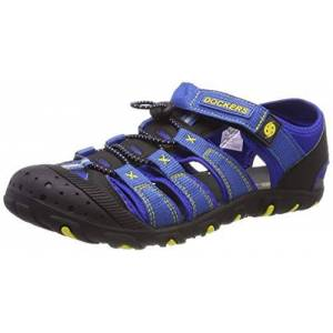 Dockers by Gerli Unisex Adult's 40tw650-637666 Closed Toe Sandals, Blue (Navy/Blau 666), 8 UK