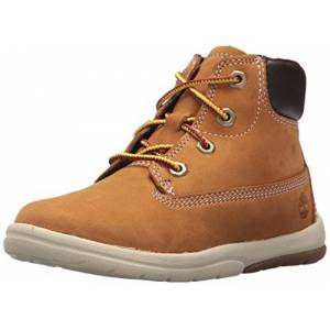 Timberland Unisex Kids' Toddle Tracks 6 Inch (Toddler) Ankle Boots, Wheat Nubuck, 6 UK