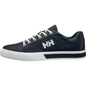 Helly Hansen Men's Fjord Lv-2 Boating Shoes, Blue (Navy/Off White/Flag Red), 8 UK 42 EU