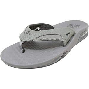 Reef Men's Fanning Sandals, Gris (Grey / Black), 5 UK
