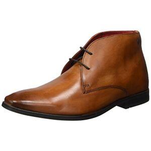 Base London Men's Henry Ankle Boots, Marron (Washed Tan), 11 UK