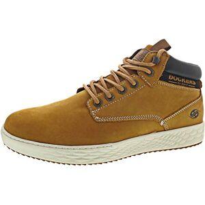Dockers by Gerli Men's 45fz101 Hi-Top Trainers, Yellow (Golden Tan 910), 10 UK