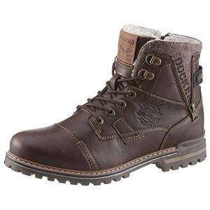 Dockers by Gerli Men's 43jk107 Combat Boots, Brown (Dunkelbraun 380), 11.5 UK
