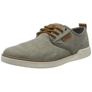 Dockers by Gerli Men's 44sv009-790213 Low-Top Sneakers, Grey (Hellgrau/Brown 213), 9 UK