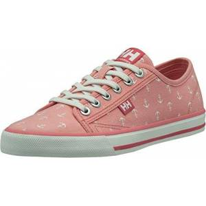 Helly Hansen Women's Fjord Canvas V2 Sneaker, Flamingo Pink, 7 UK
