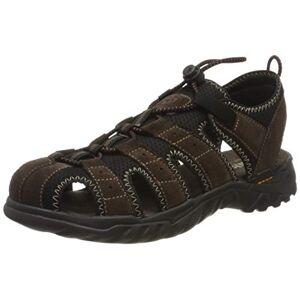 Dockers by Gerli Men's 36li019-207320 Sling Back Sandals, Brown (Cafe 320), 9 UK